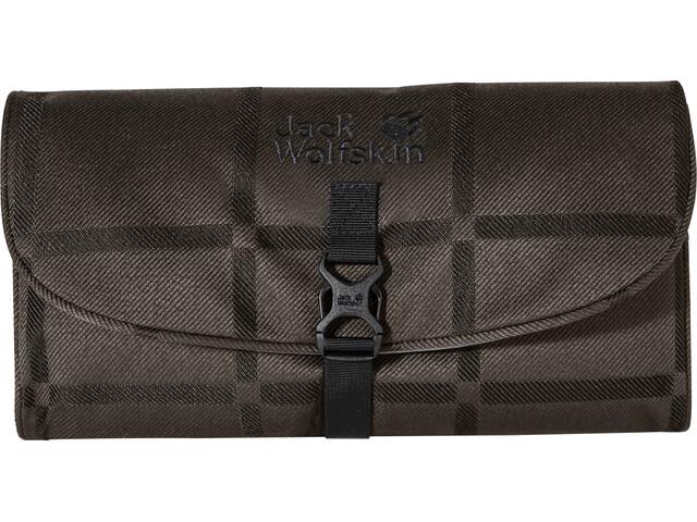 Jack Wolfskin Waschsalon Y.D. Washbag brown big check